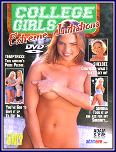 College Girls Porn DVD