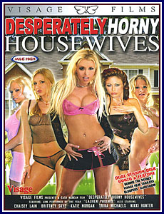 Desperately Horny Housewives Porn DVD