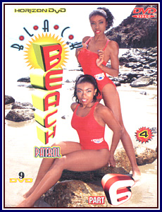 Black Beach Patrol 6 Porn DVD