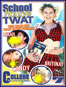 College Hotties - School House Twat Porn DVD