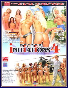 Rocco's Initiations 4 Porn DVD