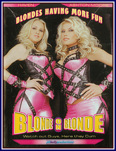 Blonde on Blonde Porn DVD