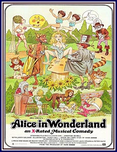 Alice in Wonderland Porn DVD