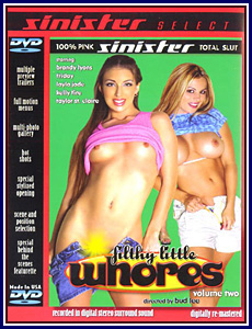 Filthy Little Whores 2 Porn DVD