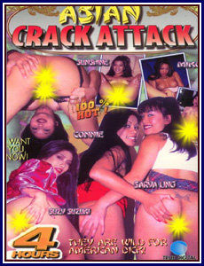Asian Crack Attack Porn DVD