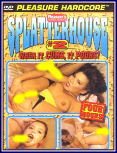 Splatterhouse 2 Porn DVD