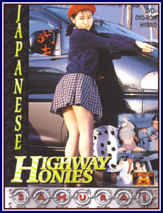 Japanese Highway Honies Porn DVD