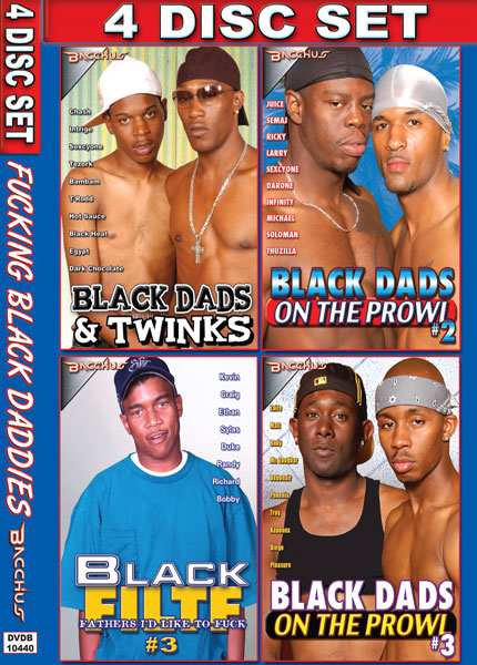Fucking Black Daddies 4 Pack Box Cover Art.