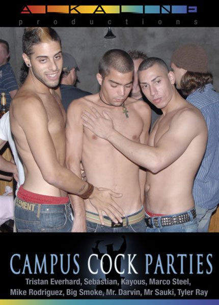 Campus Cock Parties 3 Box Cover Art.