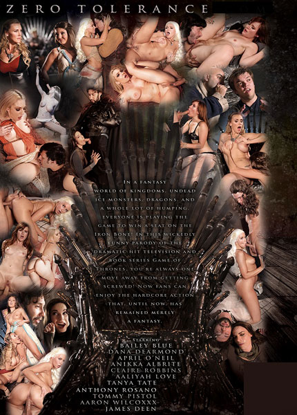 Zero Tolerance, Lee Roy Myers, Dana DeArmond, April Oneil, Anikka Albrite, Tanya Tate, Aaliyah Love, April O'Neil, Bailey Blue, Claire Robbins, James Deen, Anthony Rosano, Tommy Pistol, Aaron Wilcox, Feature, Parody, Winter is cumming