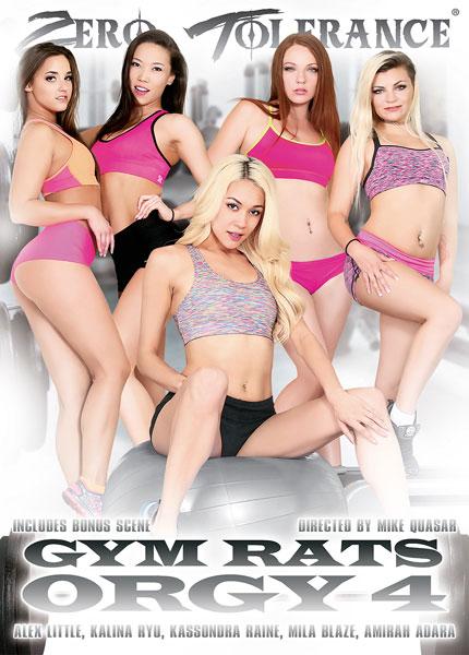 Gym Rats Orgy 4, Porn DVD, Zero Tolerance, Mike Quasar, Alex Little, Kalina Ryu, Kassondra Raine, Mila Blaze, Amirah Adara, Tommy Pistol, Mark Wood, Anthony Rosano, Will Powers, All Sex, Athletes, Orgy