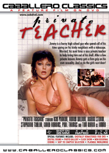 Private Teacher Box Cover Art.