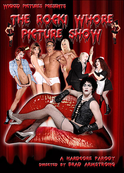 The Rocki Whore Picture Show A Hardcore Parody Box Cover Art.