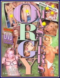 Orgy Masters Porn DVD