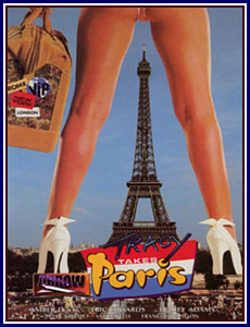 Tracy Takes Paris Porn DVD