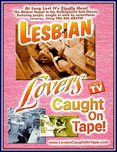Lesbian Lovers Caught On Tape!
