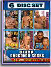 Black Anaconda Cocks 6 Pack