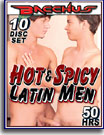 Hot and Spicy Latin Men 50 Hrs 10-Pack