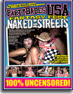 Party Babes USA Fantasy Fest Naked In The Streets