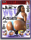 Juicy Wet Asses 4 Pack