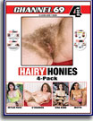 Hairy Honies 4 Pack