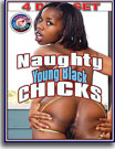 Naughty Young Black Chicks 4 Pack