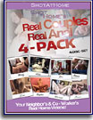 Real Couples Real Anal 4 Pack