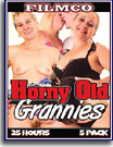 Horny Old Grannies 25 Hrs 5-Pack