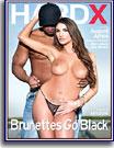 Brunettes Go Black
