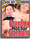 Grandma Hot For Grandsons 25 Hours 5-Pack