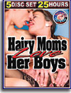 Hairy Moms Love Her Boys 25 Hours 5-Pack