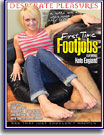 First Time Footjobs