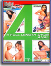 4 Full Length DVDs Anal