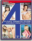4 Full Length DVDs Double Penetration 3