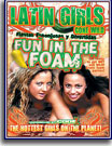 Latin Girls Gone Wild Fun In The Foam