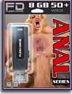 Anal Series 8GB FleshDrive