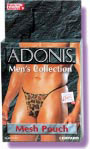 Adonis Mesh Pouch - Leopard