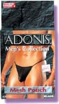 Adonis Mesh Pouch - Black