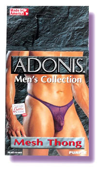 Adonis Mesh Thong - Purple