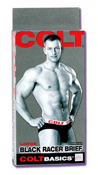 Colt Racer Brief Large - Black