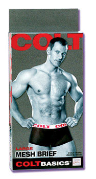 Colt Basic Mesh Brief - Large