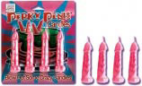 4 Perky Penis Candles