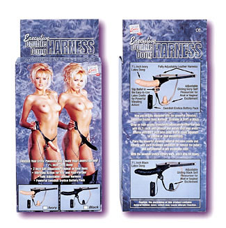Executive Double Dong Harness - Ivory