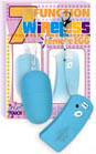 7 Function Wireless Remote Egg with Controller - Baby Blue