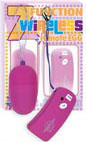7 Function Wireless Remote Egg with Controller - Fuchsia