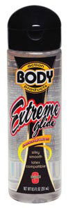 Body Action Extreme Silicone Lube 8.5 Oz Bottle