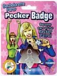Bachelorette Party Pecker Badge