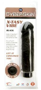 CyberSkin X-Tasy Vibe - Soft Black