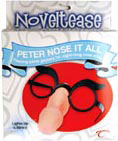 Noveltease Peter Nose It All