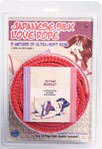 Japanese Silk Love Rope 5m Red